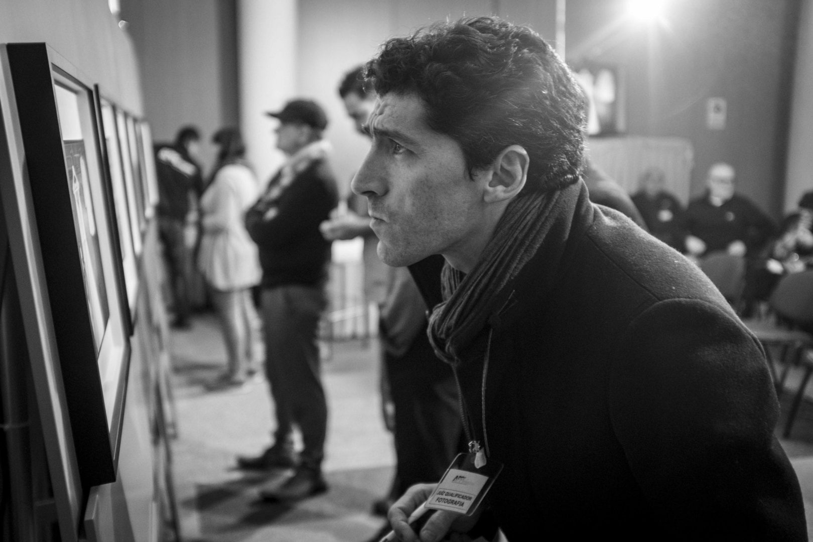 Jury Rafael Martins, whose self-portrait in the guise of Carlos Relvas was part of the Honor Collection of APPImagem 2015.
