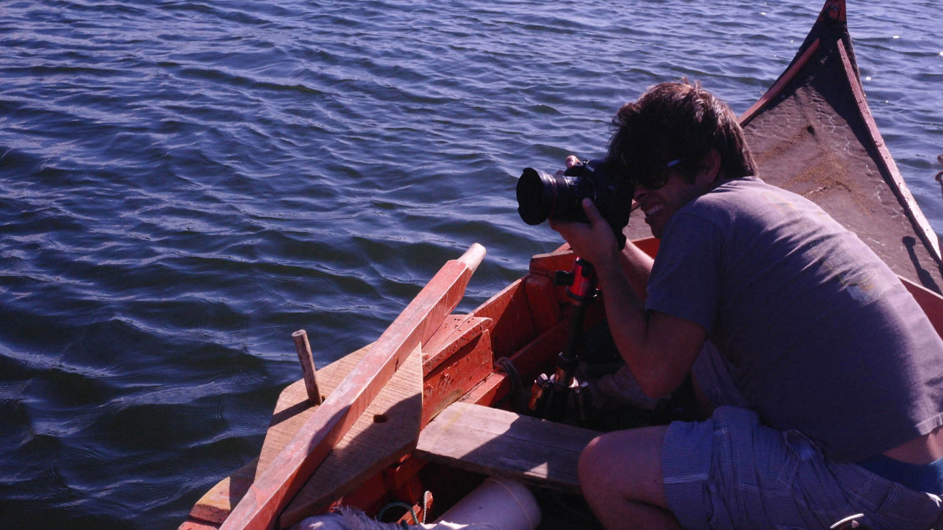Using the tripod on a boat from such a low angle gave me the small bit of stability I needed to get the shot.