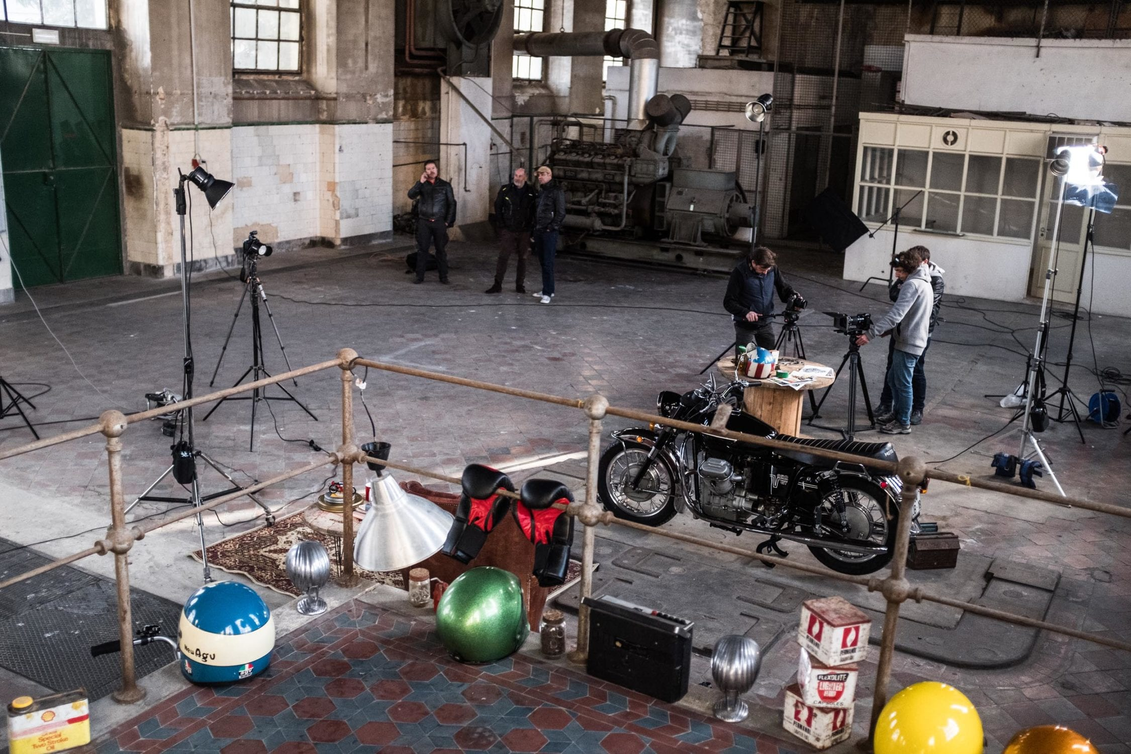 On Set With The Fujifilm X H1 And Vintage Motorcycles Part
