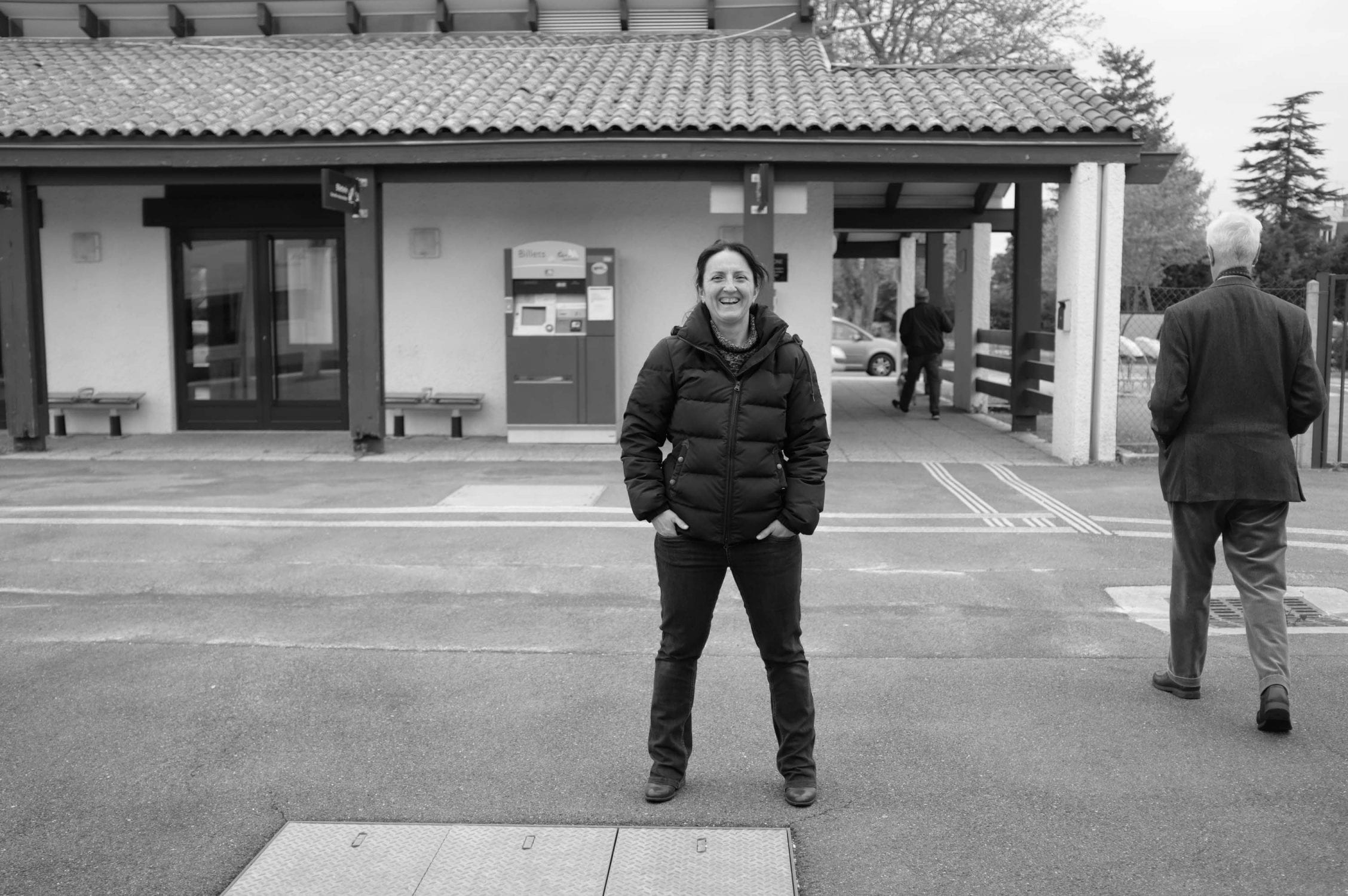The last picture from my masterclass weekend that I took was of my host and producer Hélen Cubino, right before taking my train back to Bordeaux. A big thanks to her, without her this whole workshop masterclass would have never happened.