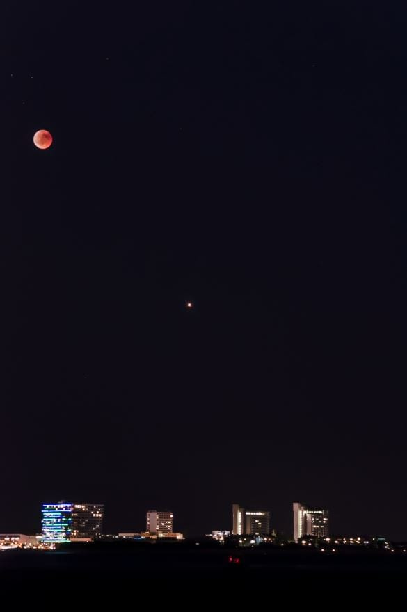 My calculations were slightly off. Moon Eclipse