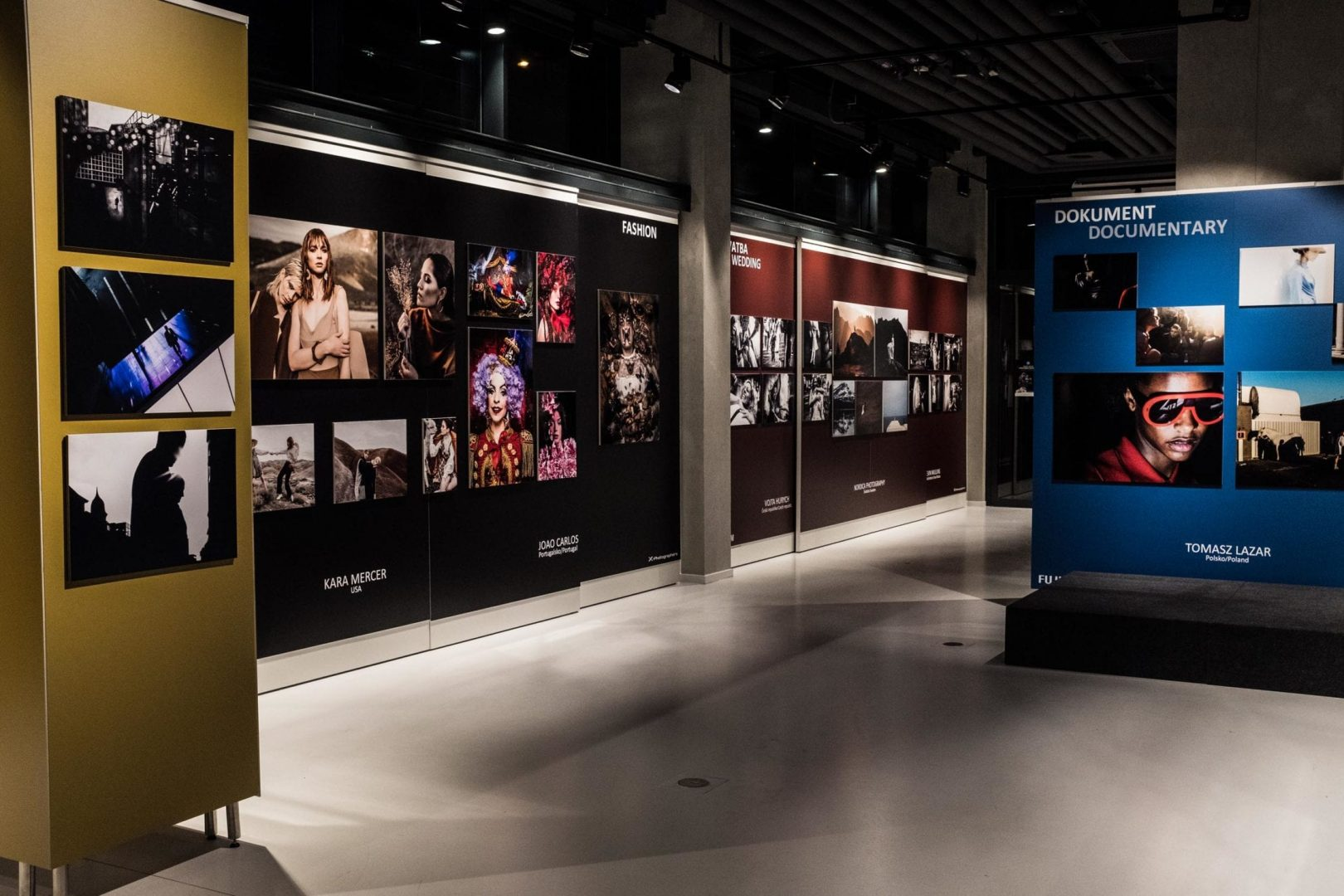 Another view of the Fujfilm World X-Photographers Exhibition at the Czech Photo Center.