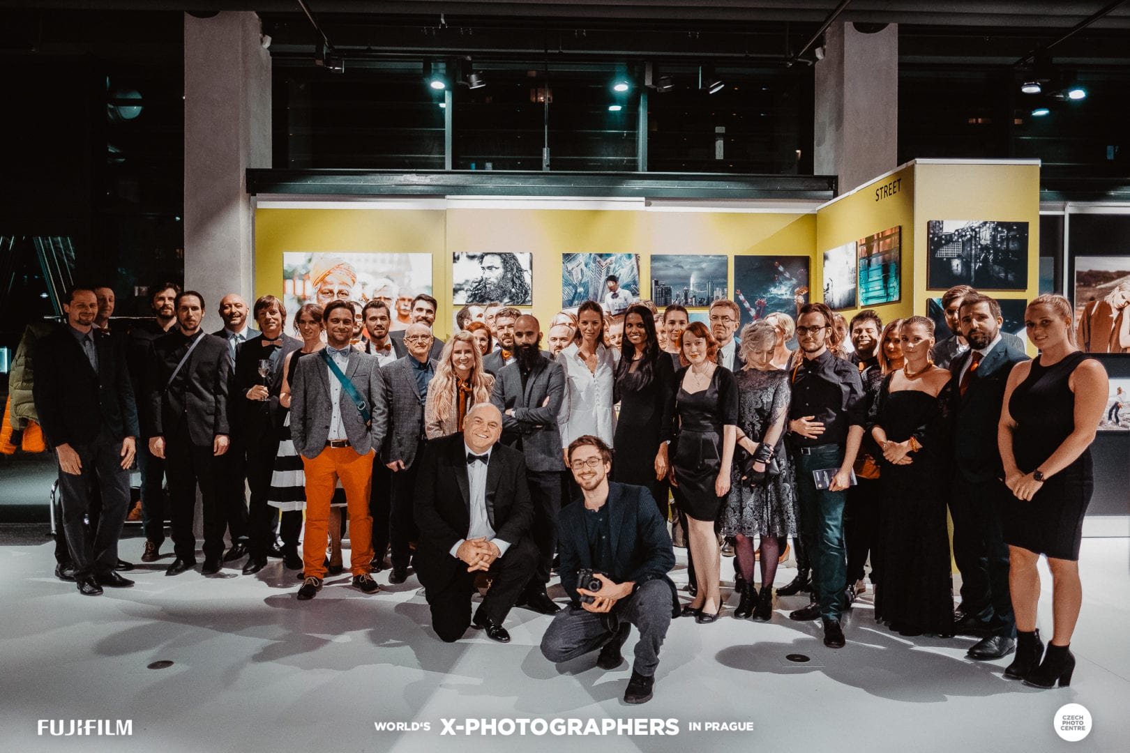 Family photo of myself with all the Fujifilm World X-Photographers attending to the event.