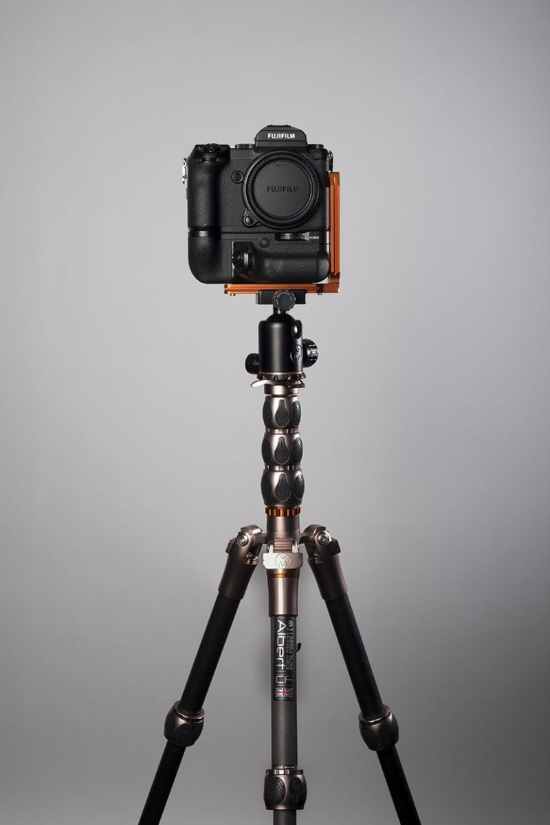 My favourite 3LeggedThing tripod and head with my Fujifilm GFX 50s