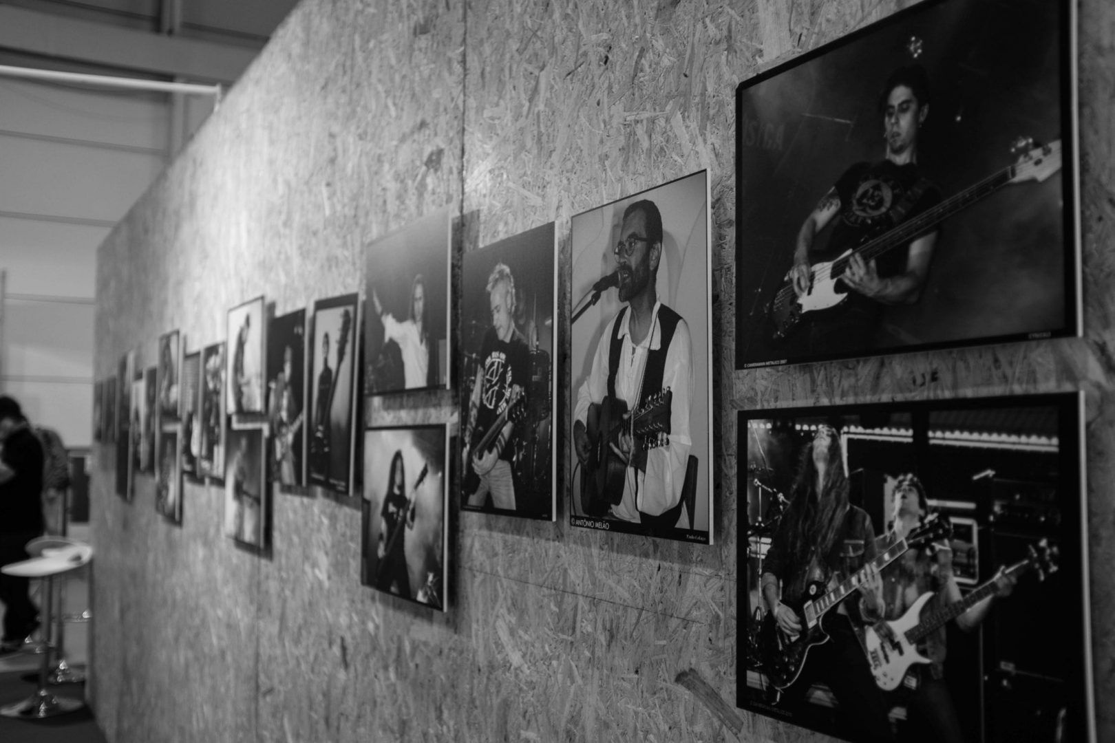Concert photography exhibition from António Francisco Melão (Camera Man Metálico)