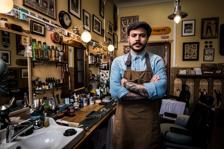 Miguel Leao from Belarmino Barbershop