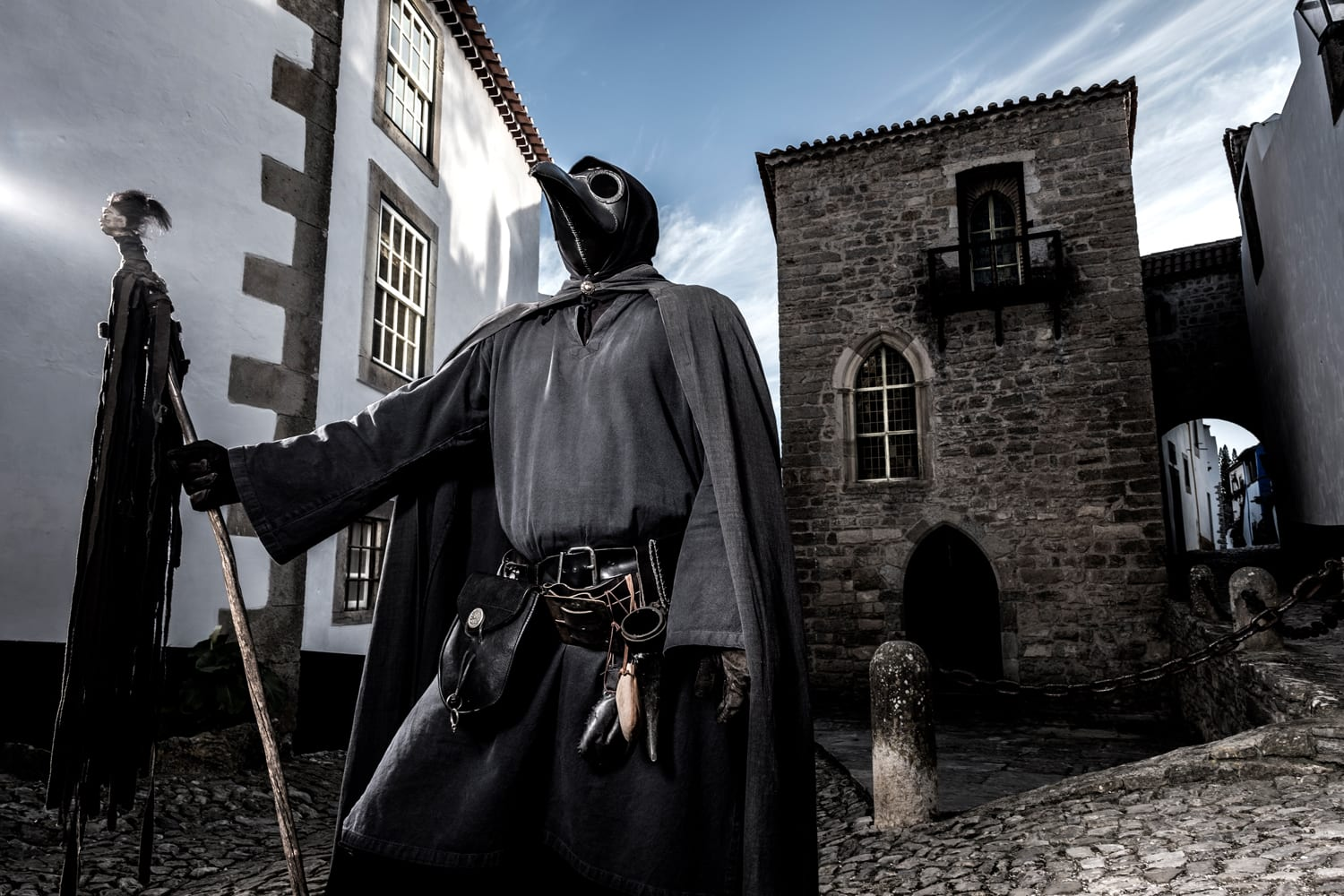 The dark plague doctor