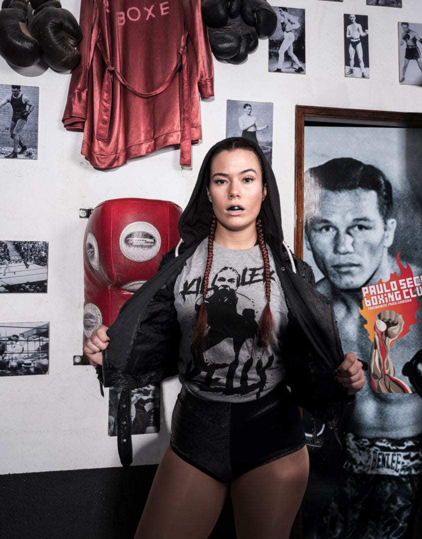 One of the first portraits I took of Killer Kelly