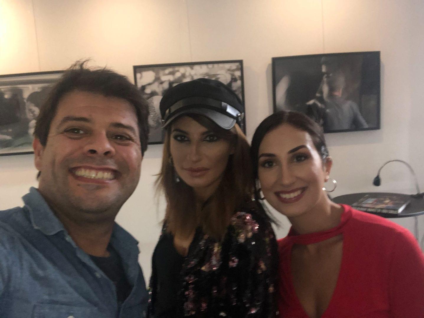 The crew! Me, Raquel Prates and Diana Saavedra