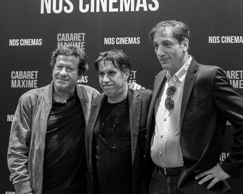 Joaquim Almeida also was at the premiere of Cabaret Maxime!