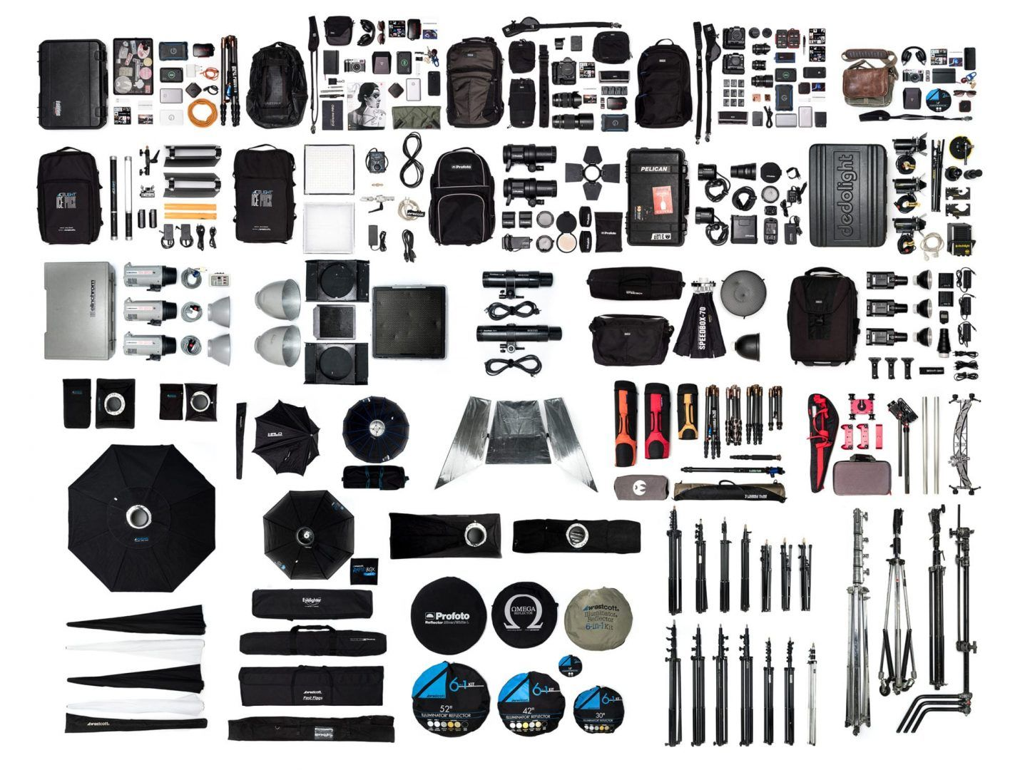 What's in all my bags !