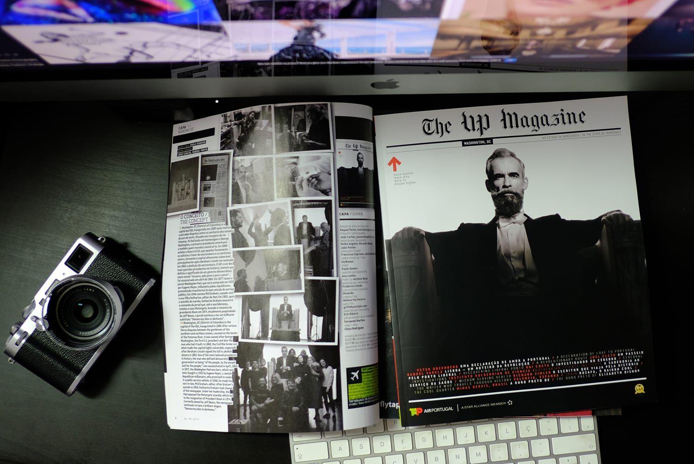 UP Magazine Cover Shoot April 2019 Washington